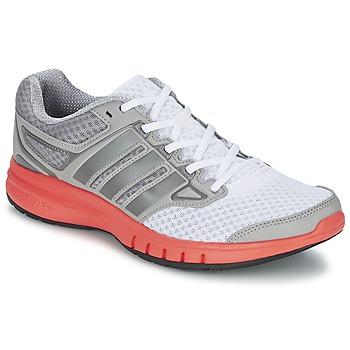 Topánky Muži Bežecká a trailová obuv adidas Performance GALACTIC ELITE M Biela / šedá / Oranžová
