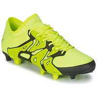 Topánky Muži Futbalové kopačky adidas Performance X 15.1 FG/AG Žltá