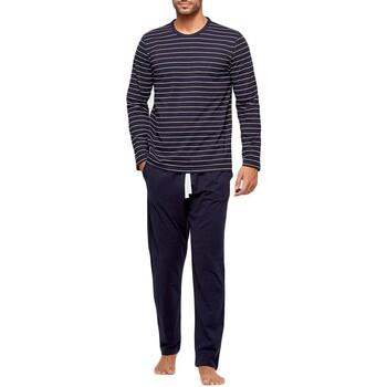 Oblečenie Muži Pyžamá a nočné košele Impetus GO61024 039 Modrá