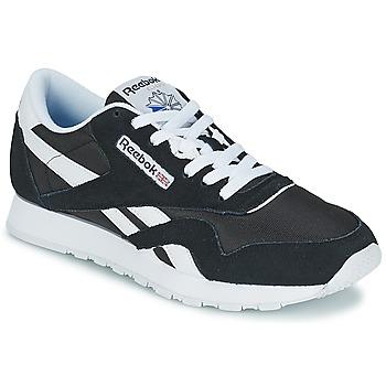 Topánky Nízke tenisky Reebok Classic CL NYLON Čierna / Biela