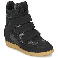 Topánky Dievčatá Členkové tenisky Acebo's MILLIE Čierna