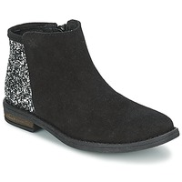 Topánky Dievčatá Polokozačky Acebo's MERY Čierna