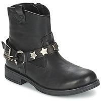 Topánky Dievčatá Polokozačky Acebo's JERIE čierna