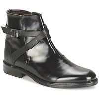 Topánky Ženy Polokozačky Hudson IRVINE čierna