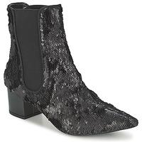 Topánky Ženy Polokozačky RAS ANAHI Čierna