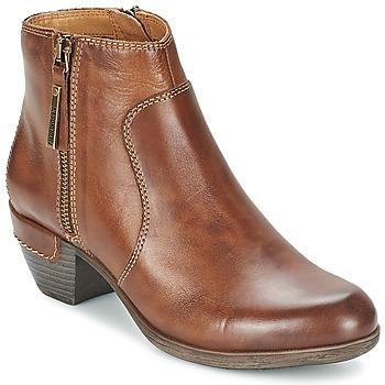 Topánky Ženy Nízke čižmy Pikolinos ROTTERDAM MILI 902 Hnedá