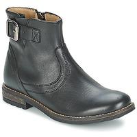 Topánky Dievčatá Polokozačky Shwik WACO BASE Čierna