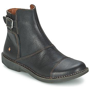 Topánky Ženy Polokozačky Art BERGEN Čierna