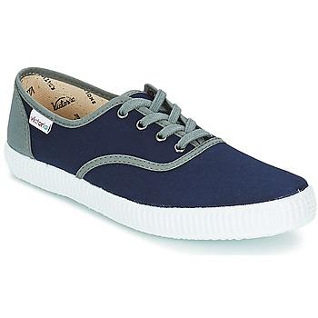Topánky Nízke tenisky Victoria INGLESA LONA DETALL CONTRAS Námornícka modrá