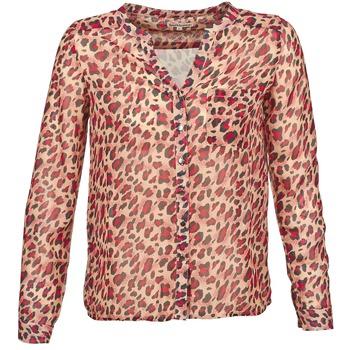 Oblečenie Ženy Košele s dlhým rukávom Best Mountain AZARI Béžová / červená