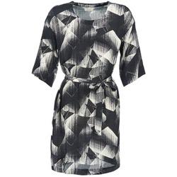 Oblečenie Ženy Krátke šaty Nümph GINGER Čierna / Biela