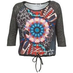 Oblečenie Ženy Tričká s dlhým rukávom Smash ANNABEL 42 šedá / Viacfarebná