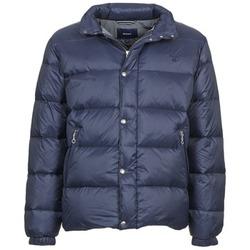 Oblečenie Muži Vyteplené bundy Gant GUIDOULE Námornícka modrá