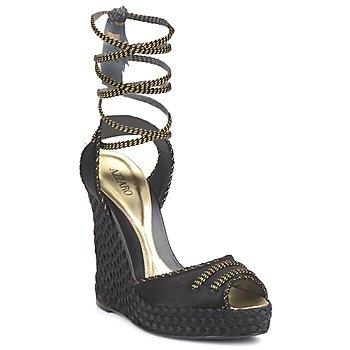 Topánky Ženy Sandále Azzaro LUGGANO čierna