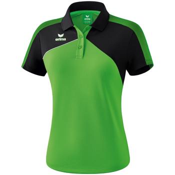 Oblečenie Ženy Polokošele s krátkym rukávom Erima Polo femme  Premium One 2.0 vert/noir/blanc