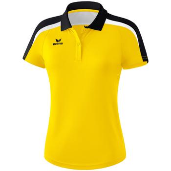 Oblečenie Ženy Polokošele s krátkym rukávom Erima Polo femme  Liga 2.0 jaune/noir/blanc