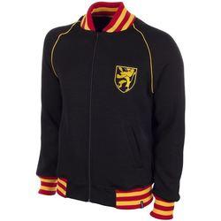 Oblečenie Muži Mikiny Copa Football Sweat zippé Belgique 1960's noir/jaune/rouge
