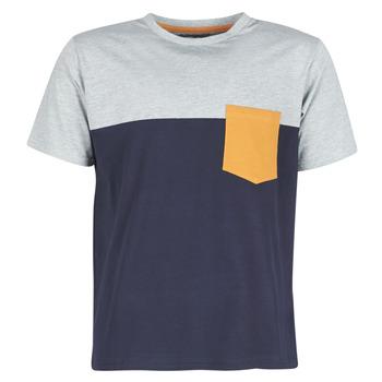 Oblečenie Muži Tričká s krátkym rukávom Casual Attitude JERMENE Šedá / Námornícka modrá