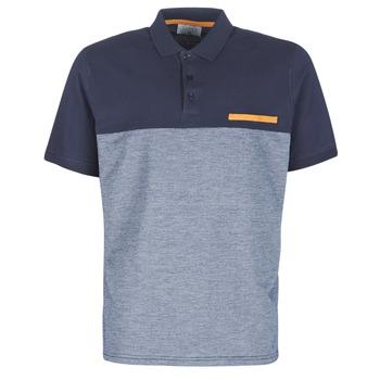 Oblečenie Muži Polokošele s krátkym rukávom Casual Attitude JACOBI Námornícka modrá / Šedá