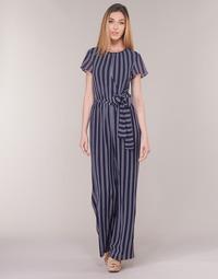 Oblečenie Ženy Módne overaly MICHAEL Michael Kors MEGA RAILRD ST  JMPST Námornícka modrá / Biela
