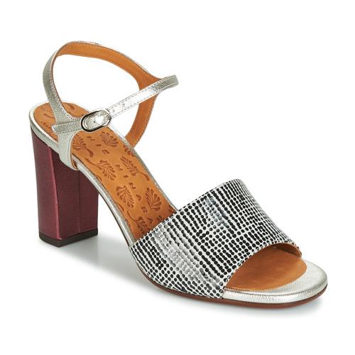 Topánky Ženy Sandále Chie Mihara PARIGI Strieborná / Čierna