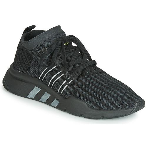 e91541506 Topánky Muži Nízke tenisky adidas Originals EQT SUPPORT MID ADV PK Čierna