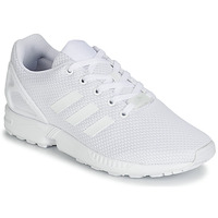 Topánky Deti Nízke tenisky adidas Originals ZX FLUX J Biela