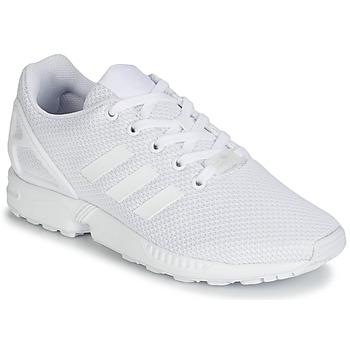 Topánky Chlapci Nízke tenisky adidas Originals ZX FLUX J Biela