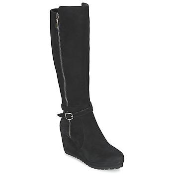 Topánky Ženy Čižmy do mesta Moda In Pelle SITA Čierna