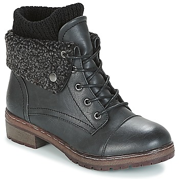 Topánky Ženy Polokozačky Coolway BRING čierna