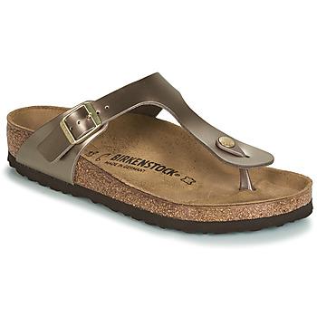 Topánky Ženy Žabky Birkenstock GIZEH Bronzová