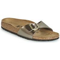 Topánky Ženy Šľapky Birkenstock MADRID Bronzová