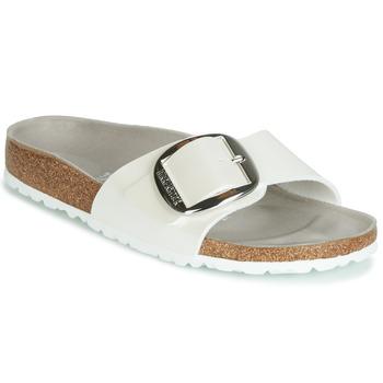 Topánky Ženy Šľapky Birkenstock MADRID BIG BUCKLE Biela