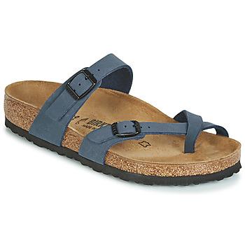 Topánky Ženy Šľapky Birkenstock MAYARI Námornícka modrá