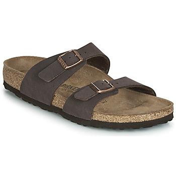Topánky Ženy Šľapky Birkenstock SYDNEY Hnedá