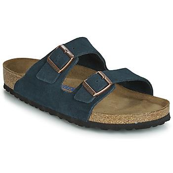 Topánky Muži Šľapky Birkenstock ARIZONA SFB Námornícka modrá