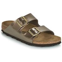Topánky Ženy Šľapky Birkenstock ARIZONA Bronzová
