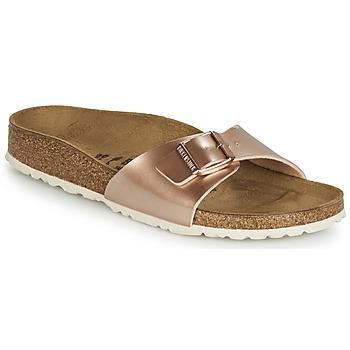 Topánky Ženy Šľapky Birkenstock MADRID Ružová / Zlatá
