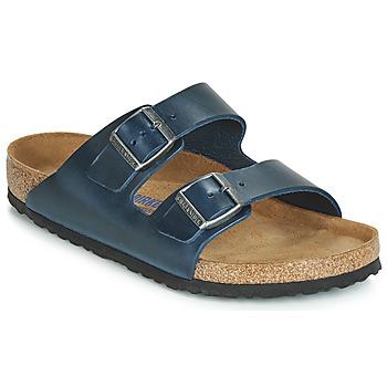 Topánky Muži Šľapky Birkenstock ARIZONA SFB Modrá