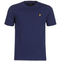 Oblečenie Muži Tričká s krátkym rukávom Lyle & Scott FAFARLIBE Námornícka modrá