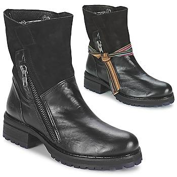 Topánky Ženy Polokozačky Felmini CLARA Čierna