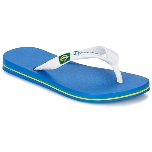 Topánky Chlapci Žabky Ipanema CLASSICA BRASIL II KIDS Modrá / Biela