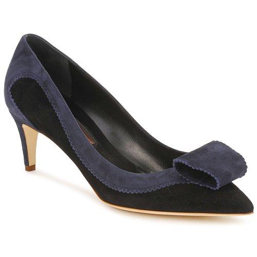 Topánky Ženy Lodičky Rupert Sanderson BESSIE Modrá / Čierna