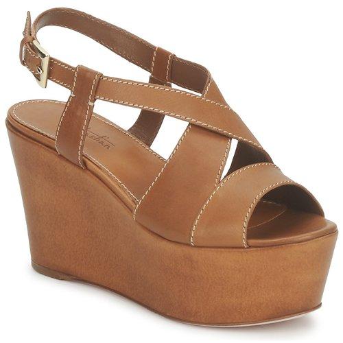 Topánky Ženy Sandále Sebastian S5270 Svetlá telová