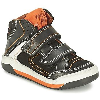 Topánky Chlapci Členkové tenisky Primigi MOTT čierna / Oranžová