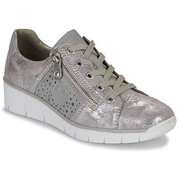 Topánky Ženy Nízke tenisky Rieker RIKTUS Zlatá