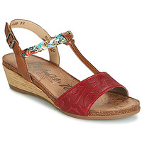 Topánky Ženy Sandále Remonte Dorndorf MIJUS Červená