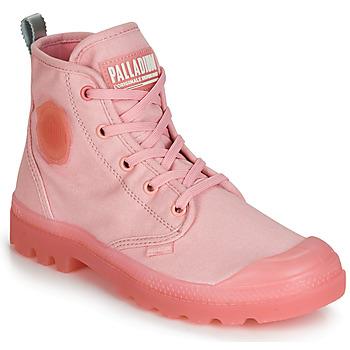 Topánky Ženy Polokozačky Palladium PAMPALICIOUS Ružová