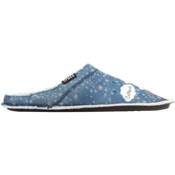 Topánky Ženy Papuče Crocs GRAPHIC SLIPPER 204565-410 blue