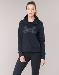 Oblečenie Ženy Mikiny Under Armour COTTON FLEECE SPORTSTYLE LOGO HOODIE Čierna